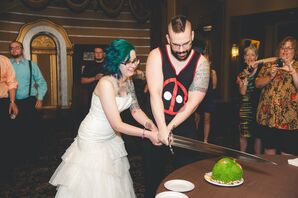Sword Cutting the Cake