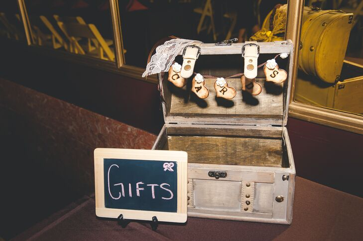 Treasure Box of Wedding Favors