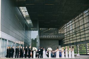 Modern, Intimate Ceremony Site