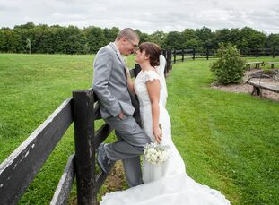 James Kuhn, 23, a program director, married Erica Kuhn, 23, a mental health worker, in a rustic wedding at The Hayloft in Somerset, Pennsylvania. The