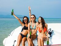 Boat bachelorette party