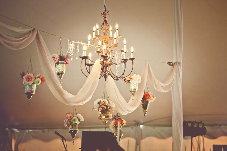 Antique Reception Chandelier