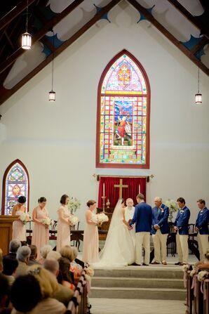 Intimate St. Luke's Chapel Ceremony