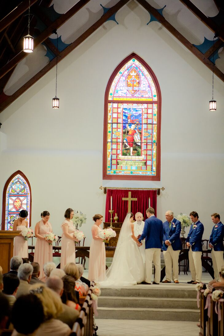 Intimate St. Luke's Chapel Ceremony