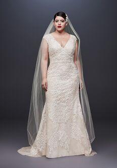 f5756220f42f Oleg Cassini at David's Bridal Oleg Cassini Style 8CWG807 Sheath Wedding  Dress