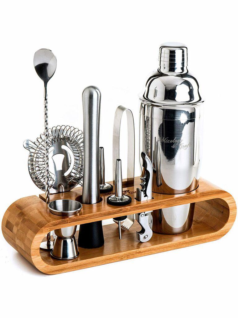 Mixology Craft Bar Set Engagement Gift Ideas