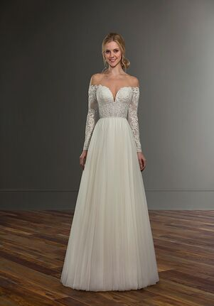 Martina Liana Caleb + Scout A-Line Wedding Dress