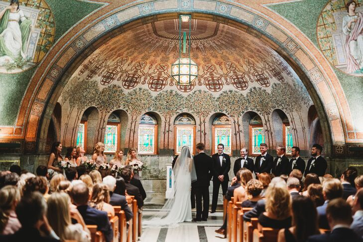 Elegant Chapel Ceremony