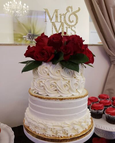Pink Dahlia Cake Company