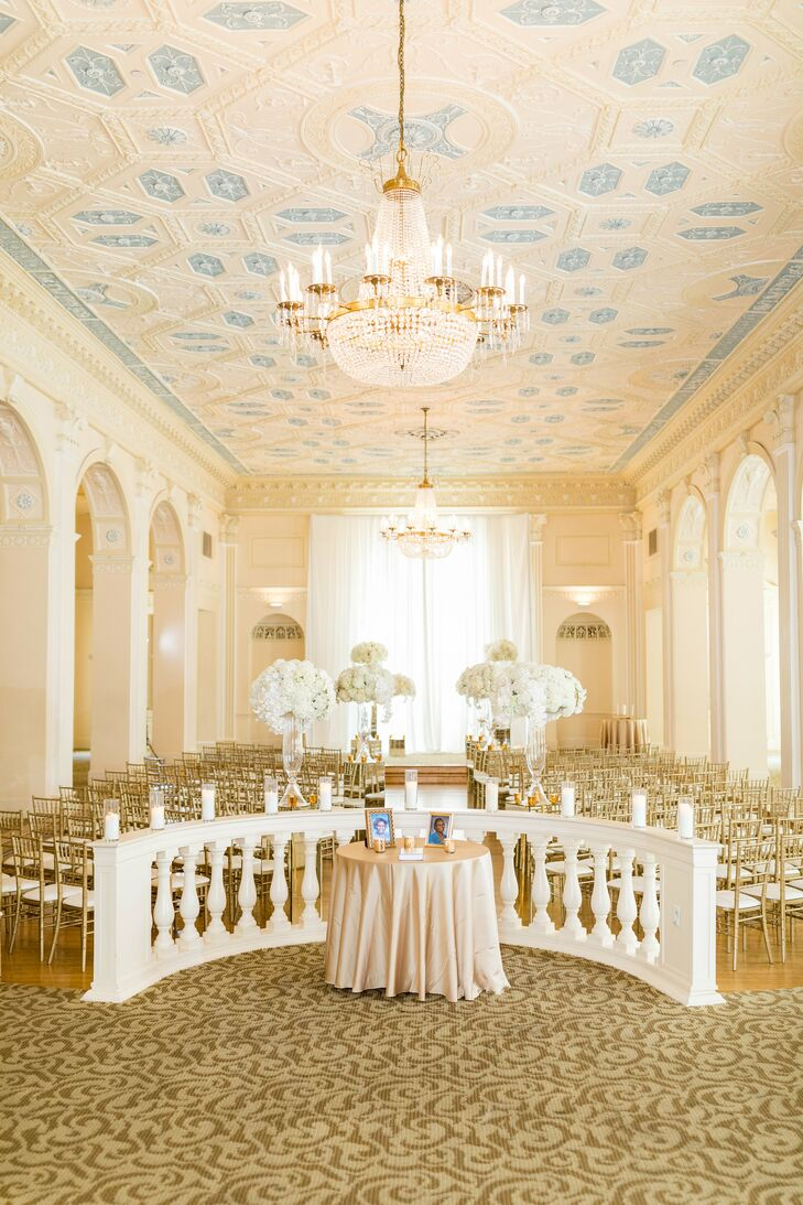 Glamorous Ceremony at The Biltmore Ballrooms in Atlanta, Georgia