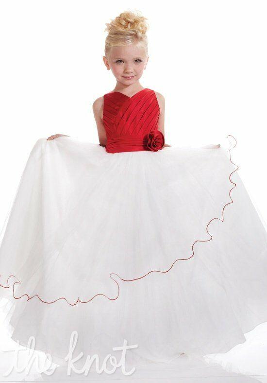 Pretty girls 53110 flower girl dress the knot for The knot gift registry