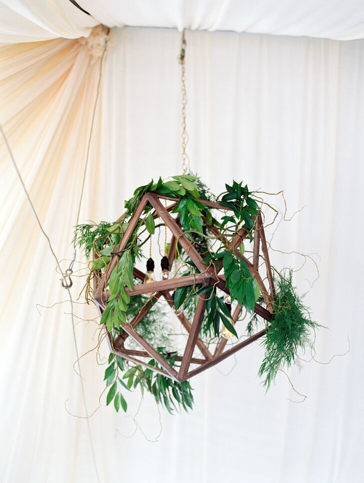 Wooden Geometric Hanging Decoration