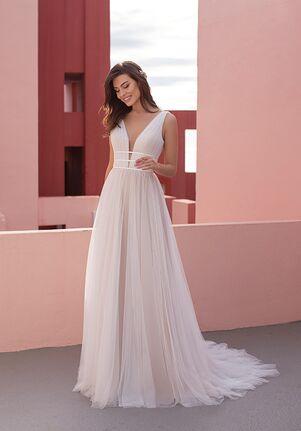 WHITE ONE ESSENTIALS SUNDROPS Ball Gown Wedding Dress