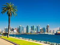 San Diego west coast honeymoon