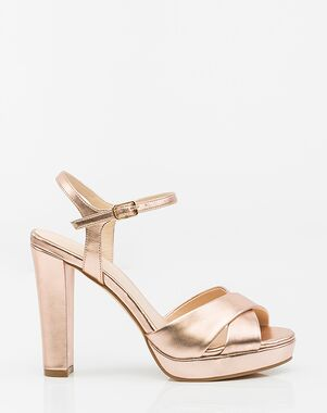 LE CHÂTEAU Wedding Boutique SHOES_362524_556 Black, Gold, Pink, Champagne Shoe