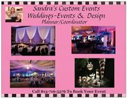 Tampa, FL Wedding Planner | Sandra's Custom Events/Wedding's
