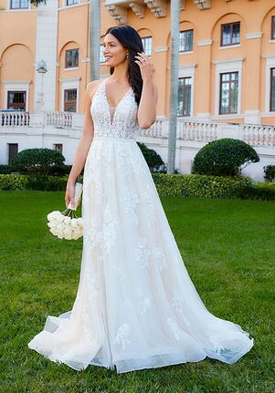 Adrianna Papell Platinum 31189 A-Line Wedding Dress