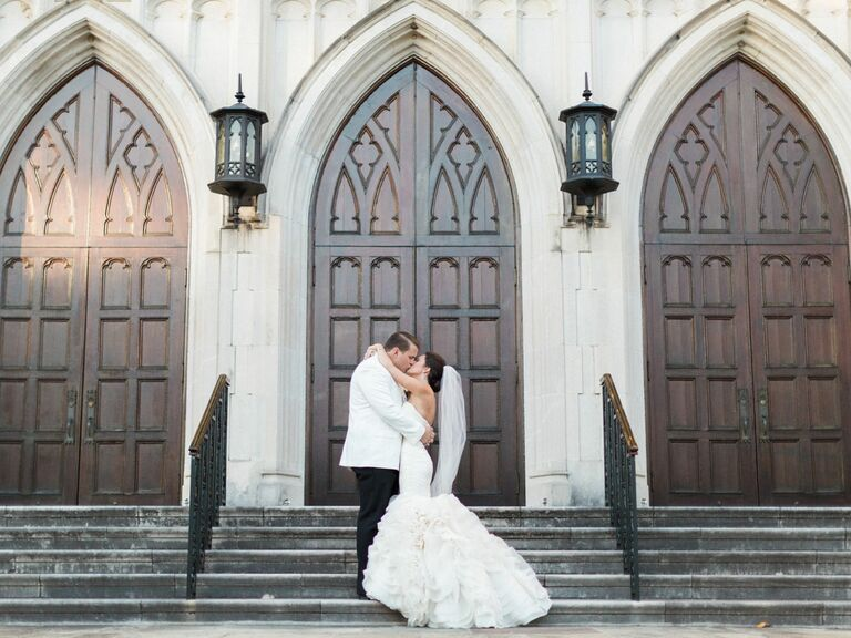 Married In Front Of Church