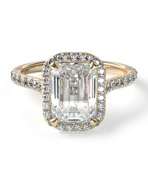 Emerald Cut Engagement Rings The Knot