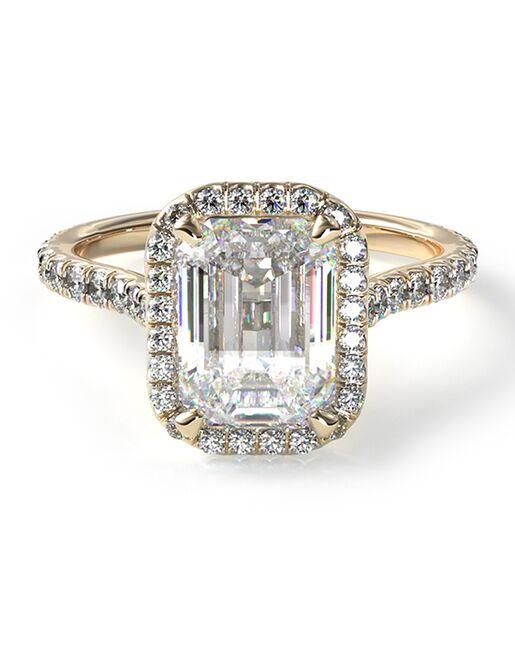 James Allen Classic Emerald Cut Engagement Ring