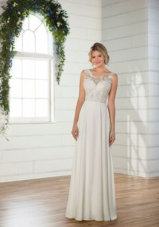 Essense of Australia D2689 Sheath Wedding Dress