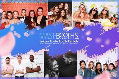 Mashbooths Modern Photo Booth Rentals