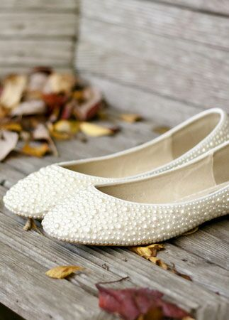 Brides who didn't wear heels |Photography by J.C. Winter | blog.theknot.com