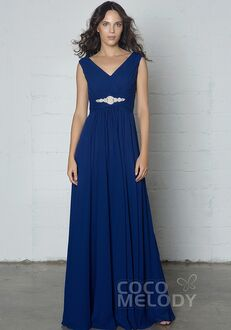 CocoMelody Bridesmaid Dresses COZF14002 V-Neck Bridesmaid Dress