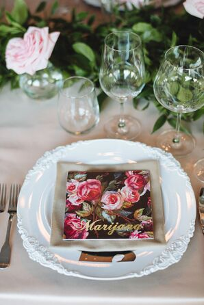 Still Life Rose Place Cards