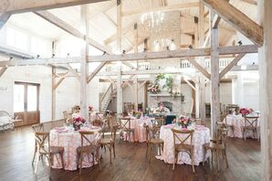 Rustic Reception at the White Magnolia in Kentwood, Louisiana