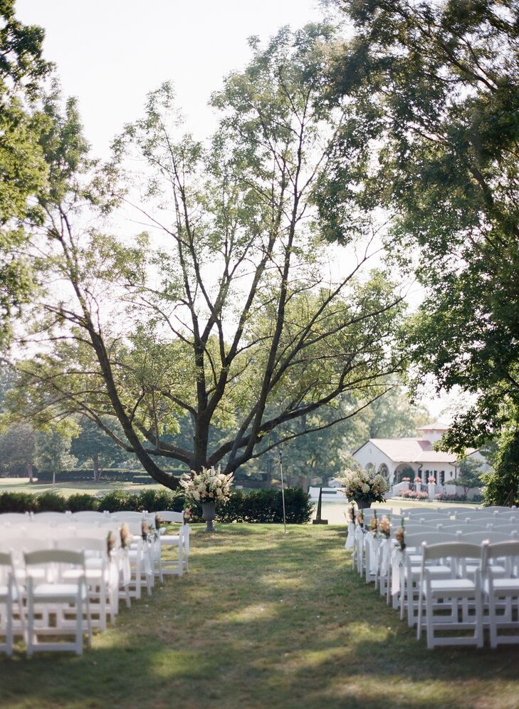 A Country Club Outdoor Ceremony in St. Louis
