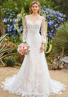 KITTYCHEN ALDORA, H1964 Sheath Wedding Dress
