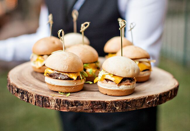 Comfort food ideas for your wedding menu wedding cheeseburgers img class junglespirit Image collections