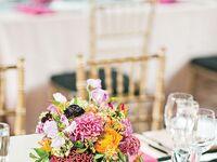 Wedding Color Schemes: Black & Hot Pink