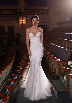 PRONOVIAS PRIVÉE DOVE Mermaid Wedding Dress