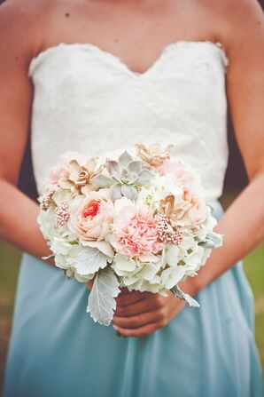 Cool and Warm Bridesmaid Bouquet