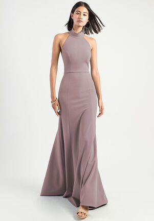 Jenny Yoo Collection (Maids) Petra Halter Bridesmaid Dress