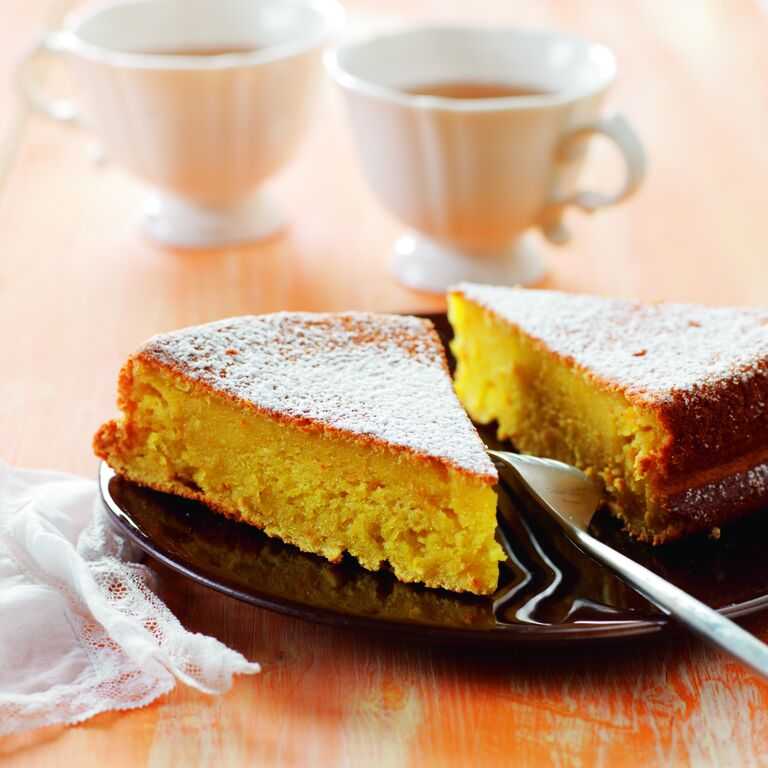all-clad orange cake