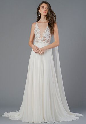Jenny Yoo Collection Alouette A-Line Wedding Dress