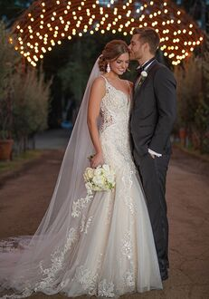 Essense of Australia D2844 Mermaid Wedding Dress