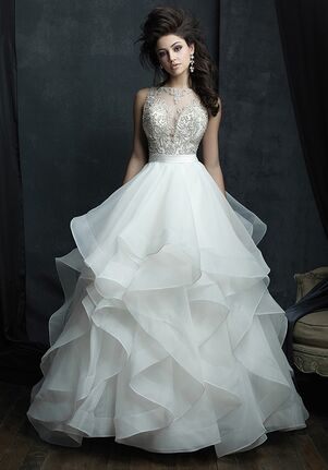 Allure Couture C380 Ball Gown Wedding Dress