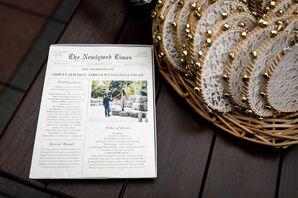 Newspaper Ceremony Programs
