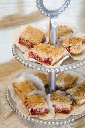 Raspberry Rhubarb Dessert