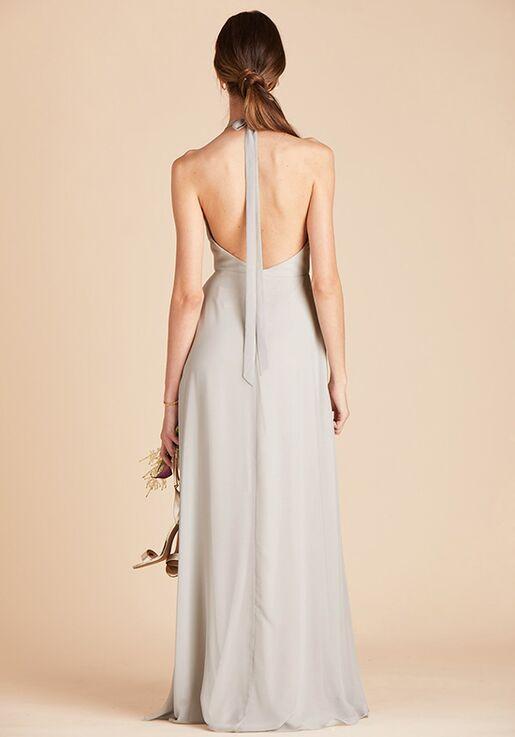 Birdy Grey Moni Convertible Dress in Dove Gray Halter Bridesmaid Dress