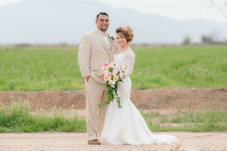 Vanessa Mendoza (23 and an insurance agent) and Jairo Alvarez (24 and an insurance underwriter) met through their church assembly, but didn't hang out