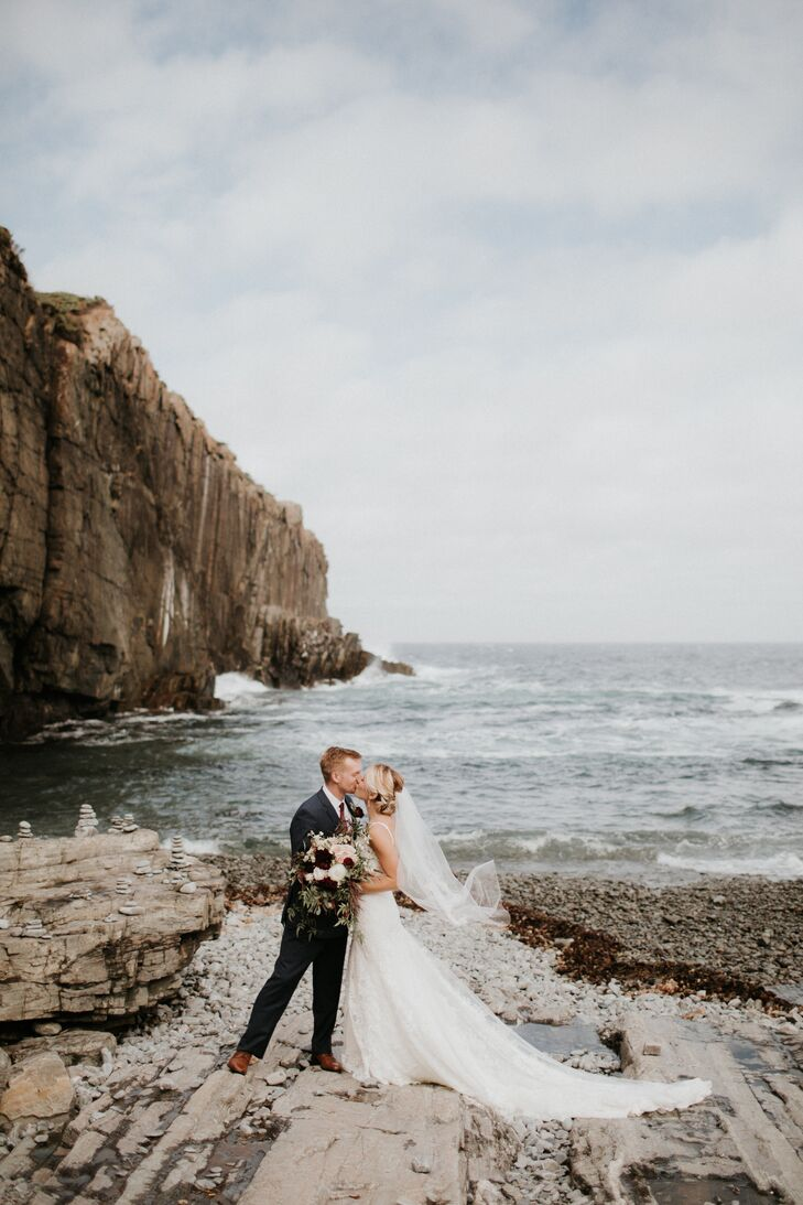 Lace Mermaid Gown with Dramatic Train