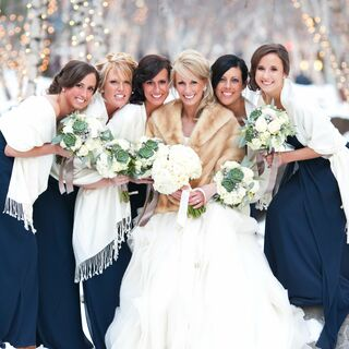 Winter Wedding Colors