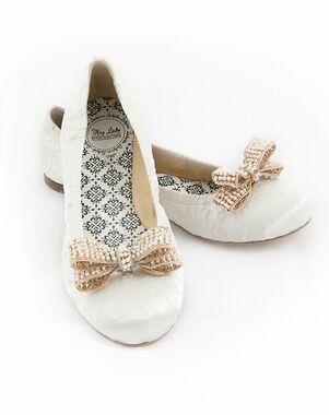 Hey Lady Shoes Smitten w/little pearl bow Shoe