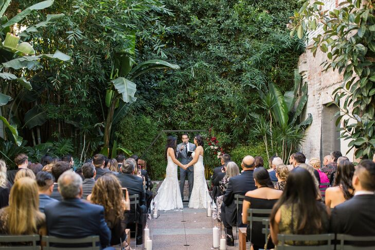 Same-Sex Ceremony at Millwick in Los Angeles