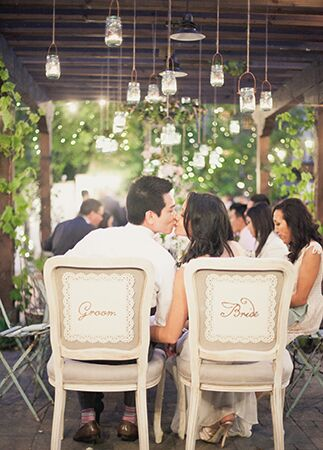 outdoor reception | One Love Photography | blog.theknot.com